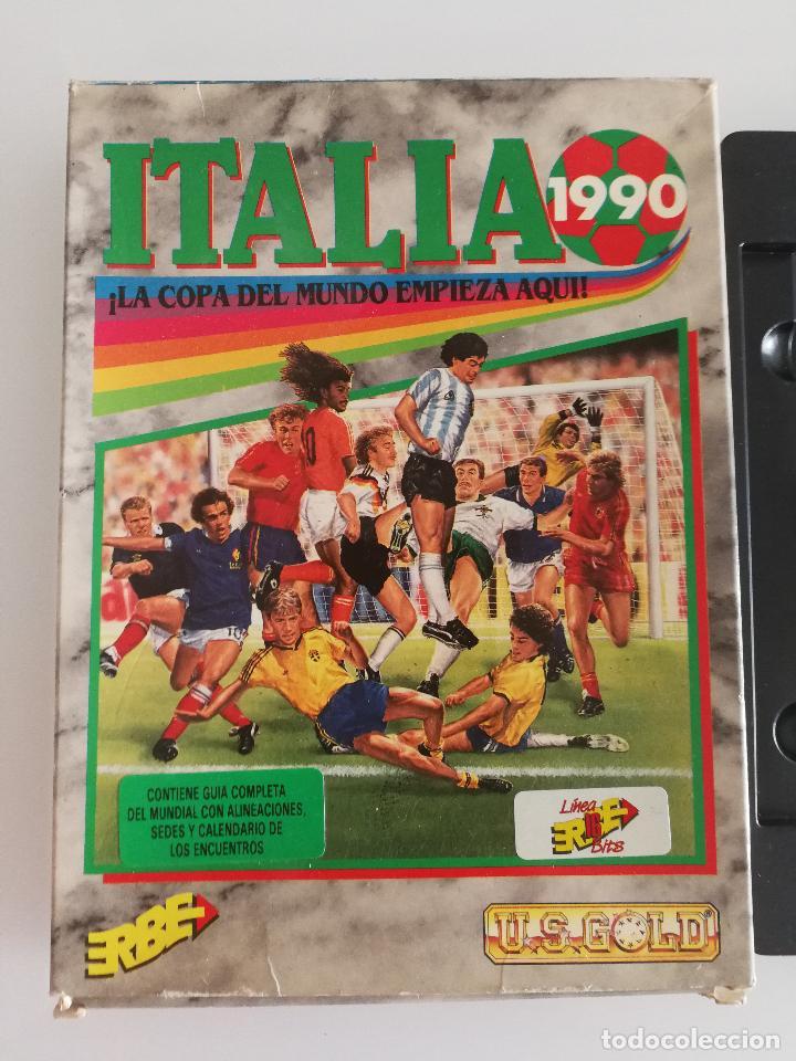 Videojuegos y Consolas: JUEGO PARA PC ITALIA 1990 EN DISQUETE - Foto 2 - 118839051