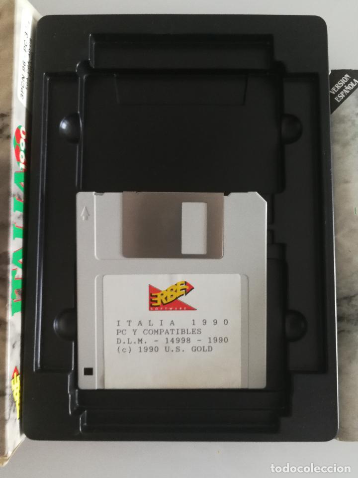Videojuegos y Consolas: JUEGO PARA PC ITALIA 1990 EN DISQUETE - Foto 3 - 118839051