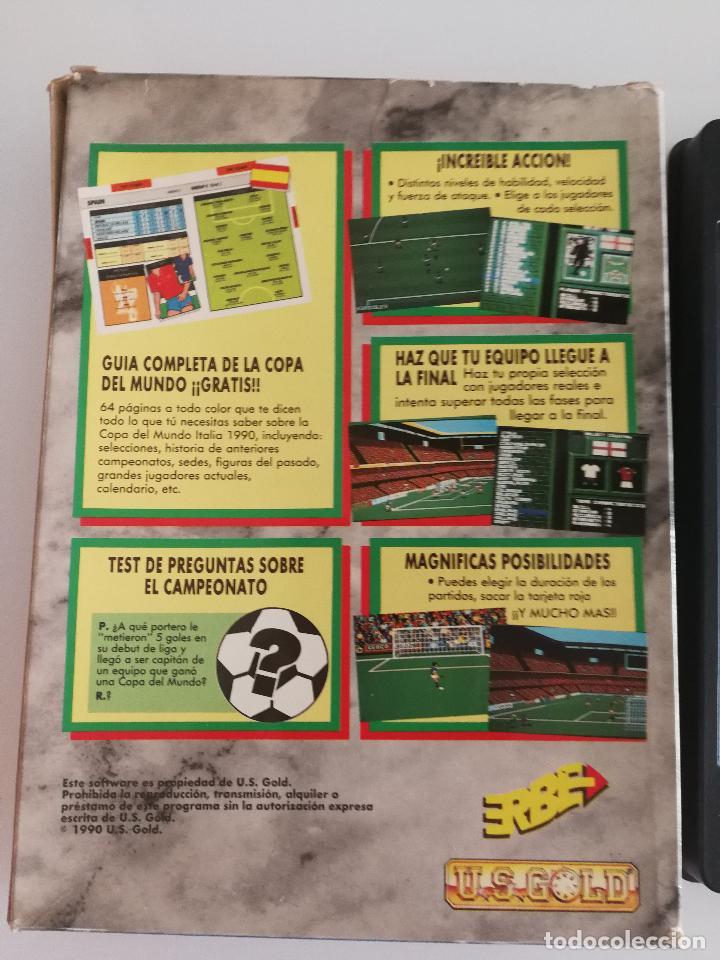 Videojuegos y Consolas: JUEGO PARA PC ITALIA 1990 EN DISQUETE - Foto 5 - 118839051