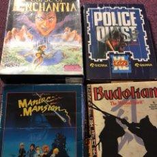 Videojuegos y Consolas: LOTE JUEGOS PC 1989 Y PRINCIPIO AÑOS 90. Lote 118845490