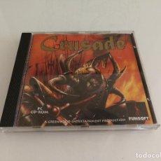 Videojuegos y Consolas: JUEGO PARA PC CRUSADE EN CD. Lote 118891315