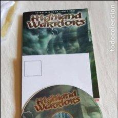 Videojuegos y Consolas: HIGHLAND WARRIORS JUEGO PC ORIGINAL PERO SIN CAJA ORIGINAL ACEPTO OFERTAS EST.NORMAL . Lote 118672091