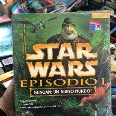 Videojuegos y Consolas: STAR WARS GUNGAN UN NUEVO MUNDO - NUEVO PRECINTADO PARA PC EN CAJA DE CARTON GRANDE - COMPLETO. Lote 119042543