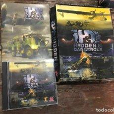 Videojuegos y Consolas: HIDDEN & DANGEROUS EN CAJA DE CARTON GRANDE PARA PC. Lote 119045567
