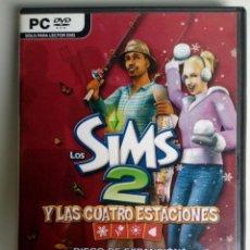 Videogiochi e Consoli: LOS SIMS 2. Y LAS CUATRO ESTACIONES. DISCO EXPANSION. JUEGO PC. EA GAMES. . Lote 119458183