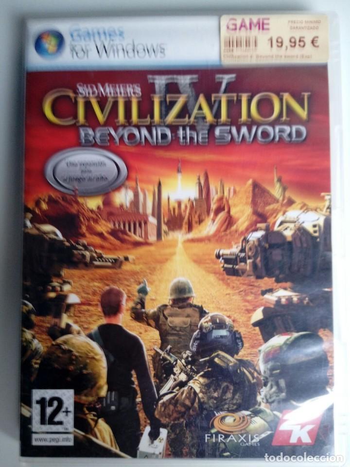 CIVILIZATION IV. SID MEIER´S. BEYOND THE SWORD. EXPANSION. JUEGO PC. (Juguetes - Videojuegos y Consolas - PC)