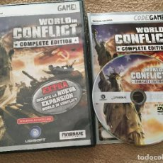 Jeux Vidéo et Consoles: WORLD IN CONFLICT COMPLETE EDITION PC DVD ROM JUEGO KREATEN. Lote 218996211