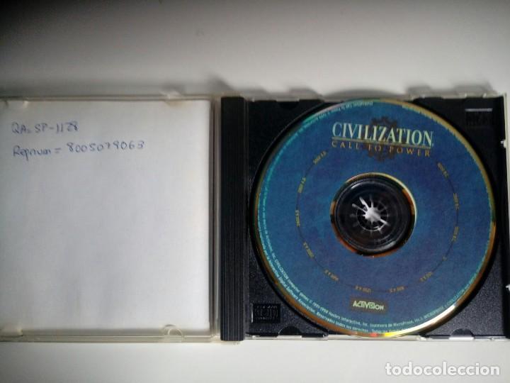 Videojuegos y Consolas: CIVILIZATION CALL TO POWER. ACTIVISION. juego PC - Foto 2 - 119657819