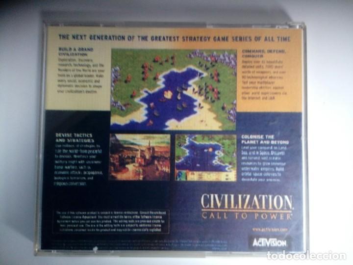 Videojuegos y Consolas: CIVILIZATION CALL TO POWER. ACTIVISION. juego PC - Foto 3 - 119657819
