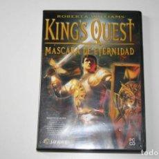 Videojuegos y Consolas: KING'S QUEST. MÁSCARA DE ETERNIDAD. VIDEOJUEGO PARA PC. . Lote 119773319
