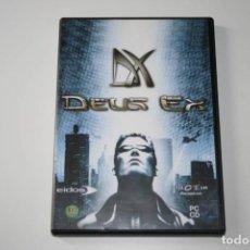 Videojuegos y Consolas: DEUX EX. VIDEOJUEGO PARA PC.. Lote 119774235