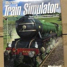 Videojuegos y Consolas: JUEGO PC MICROSOFT TRAIN SIMULATOR SIMULADOR TREN AÑO 2001. Lote 119906447