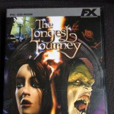 Videojuegos y Consolas: THE LONGEST JOURNEY - FX - PC CD ROM - 4 CDS CON INSTRUCCIONES. Lote 120118122