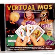 Videojuegos y Consolas: VIRTUAL MUS.DE NAIPES FOURNIER EN CD-ROM PARA PC CD ROM CDROM. Lote 120239315