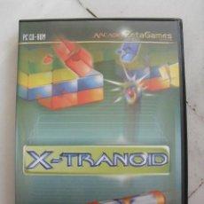 Videojuegos y Consolas: JUEGO PC CD-ROM X-TRANOID. ARCADE ZETAGAMES.. Lote 120354487