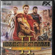 Videojuegos y Consolas: == D247 - JUEGO IMPERIVM - EL MAXIMO ESPLENDOR DE ROMA. Lote 120465879