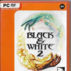 Videojuegos y Consolas: == D78 - JUEGO - BLACK AND WHITE 2 - VALUE GAMES. Lote 120525763