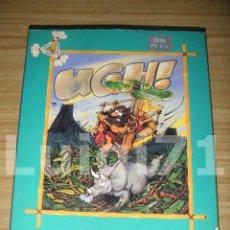 Videojuegos y Consolas: JUEGO UGH! PARA IBM PC (1 DISKETTE DE 3 1/2) SYSTEM 4 DE ESPAÑA, 1992. Lote 120586523