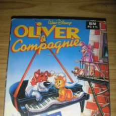 Videojuegos y Consolas: JUEGO OLIVER & COMPAGNIE PARA IBM PC (1 DISKETTE DE 3 1/2) DISNEY, 1989 - SYSTEM 4 DE ESPAÑA. Lote 120586579