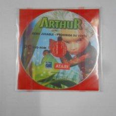 Videojuegos y Consolas: ARTHRU LOS MINIMOYS. DEMO JUGABLE PC DVD-ROM. TDKV17. Lote 120672675