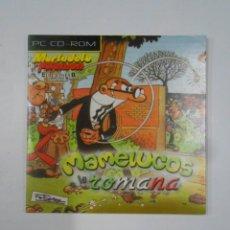 Videojuegos y Consolas: MAMELUCOS ROMANA. MORTADELO Y FILEMON. PC CD-ROM. TDKV17. Lote 120673651