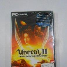 Videojuegos y Consolas: UNREAL II - THE AWAKENING - JUEGO PC CD-ROM. NUEVO. TDKV17. Lote 120674131