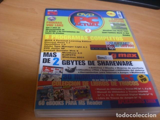 DVD PC ACTUAL 2 VIDEOJUEGOS SOFTWARE REVISTAS INFORMÁTICA EN PDF (Juguetes - Videojuegos y Consolas - PC)