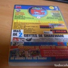 Videojuegos y Consolas: DVD PC ACTUAL 2 VIDEOJUEGOS SOFTWARE REVISTAS INFORMÁTICA EN PDF. Lote 120692139