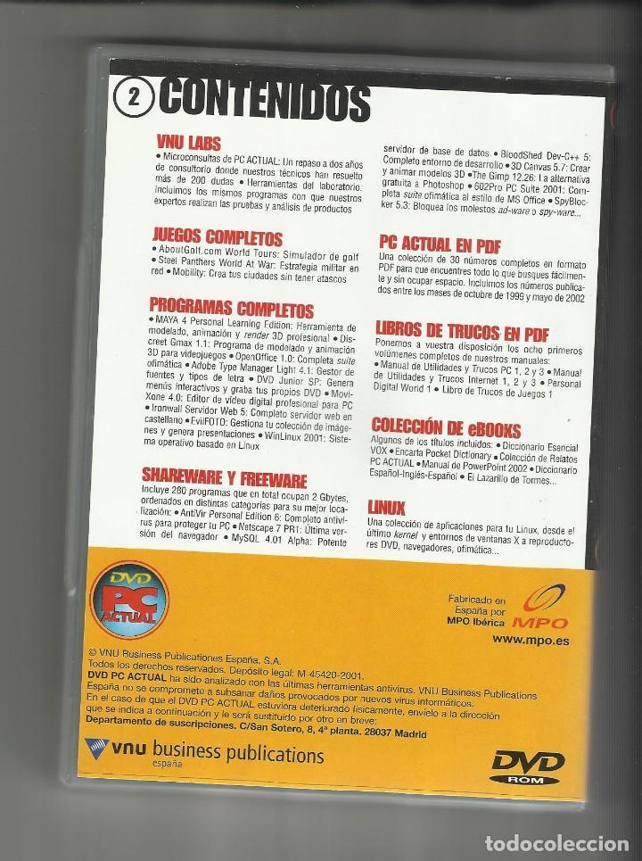 Videojuegos y Consolas: DVD PC Actual 2 videojuegos software revistas informática en pdf - Foto 2 - 120692139