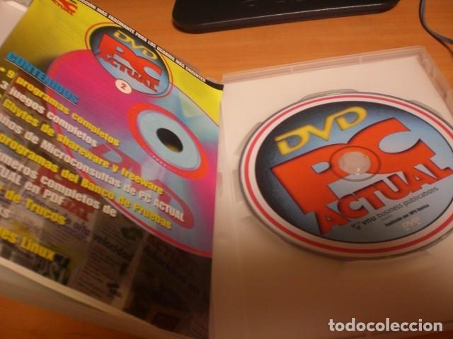 Videojuegos y Consolas: DVD PC Actual 2 videojuegos software revistas informática en pdf - Foto 3 - 120692139
