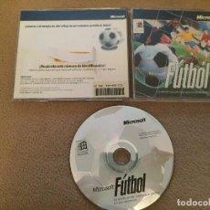 Videojuegos y Consolas: MICROSOFT FUTBOL 1996 CD ROM JUEGO PC KREATEN. Lote 120732607