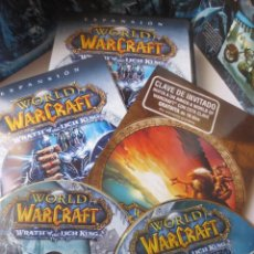 Jeux Vidéo et Consoles: WORLD OF WARCRAFT WRATH OF THE LICH KING (PC DVD). Lote 121129683