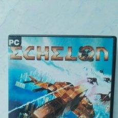 Videojuegos y Consolas: ECHELON ANTIGUO VIDEOJUEGO PC. Lote 121185148