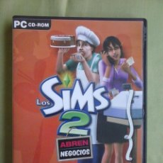 Videojuegos y Consolas: JUEGO PC LOS SIMS 2 ABREN NEGOCIOS. DISCO EXPANSION.. Lote 243928920