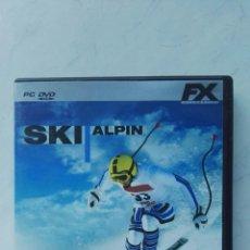 Videojuegos y Consolas: SKI ALPIN PC. Lote 121288107