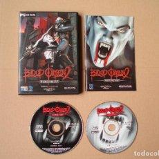 Videojuegos y Consolas: BLOOD OMEN 2 - JUEGO PARA PC - COMPLETO - PRIMERA EDICION. Lote 121395983