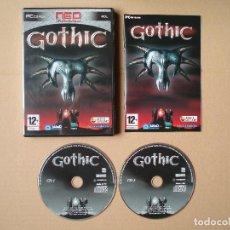 Videojuegos y Consolas: GOTHIC - JUEGO PARA PC - COMPLETO. Lote 121396507
