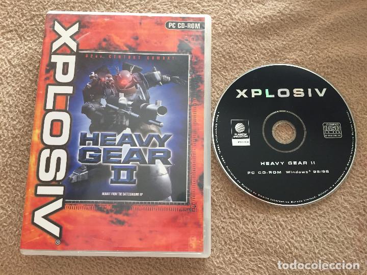 HEAVY GEAR II 2 XPLOSIV JUEGO PC CD ROM KREATEN (Juguetes - Videojuegos y Consolas - PC)