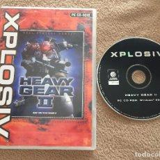 Videojuegos y Consolas: HEAVY GEAR II 2 XPLOSIV JUEGO PC CD ROM KREATEN. Lote 121520891
