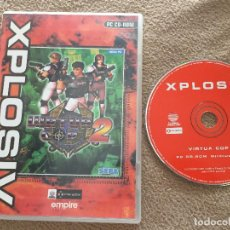 Videojuegos y Consolas: VIRTUA COP 2 SEGA XPLOSIV JUEGO PC CD ROM KREATEN. Lote 121521007