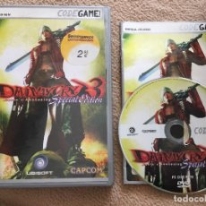 Videojuegos y Consolas: DEVIL MAY CRY 3 SPECIAL EDITION DANTE'S AWAKENING PC DVD ROM CAPCOM UBISOFT KREATEN. Lote 121557507