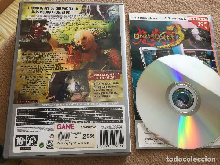 Videojuegos y Consolas: DEVIL MAY CRY 3 SPECIAL EDITION DANTE'S AWAKENING pc dvd rom capcom ubisoft KREATEN - Foto 2 - 121557507