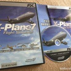 Videojuegos y Consolas: X-PLANE FLIGHT SIMULATOR X PLANE SIMULADOR VUELO PROFESIONAL FX PC CD ROM KREATEN. Lote 121559479