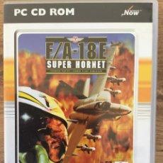 Videojuegos y Consolas: F/A -18 E SUPER HORNET ( JUEGO CD-ROM PARA PC ). Lote 121741955