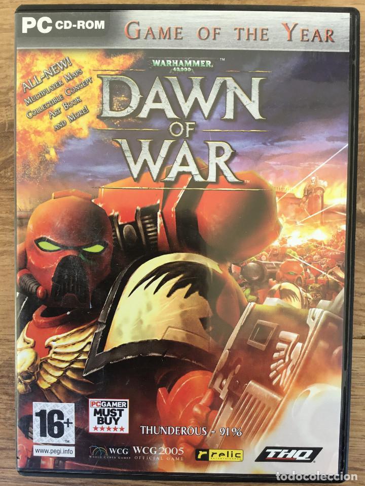WHARHAMMER 40,000 : DAWN OF WAR - JUEGO PC ( 3 CD ROM ) MUY RARE (Juguetes - Videojuegos y Consolas - PC)