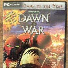 Videojuegos y Consolas: WHARHAMMER 40,000 : DAWN OF WAR - JUEGO PC ( 3 CD ROM ) MUY RARE. Lote 121760935