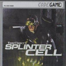 Videojuegos y Consolas: TOM CLANCY´ SPLINTER CELL. VIDJUEG-177. Lote 122181643
