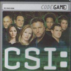 Videojuegos y Consolas: CSI: CRIME SCENE INVESTIGATION. OSCURAS INTENCIONES. VIDJUEG-179. Lote 122182371