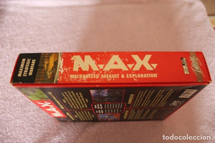 Videojuegos y Consolas: M.A.X. PC BOX CAJA CARTON - Foto 5 - 101223731