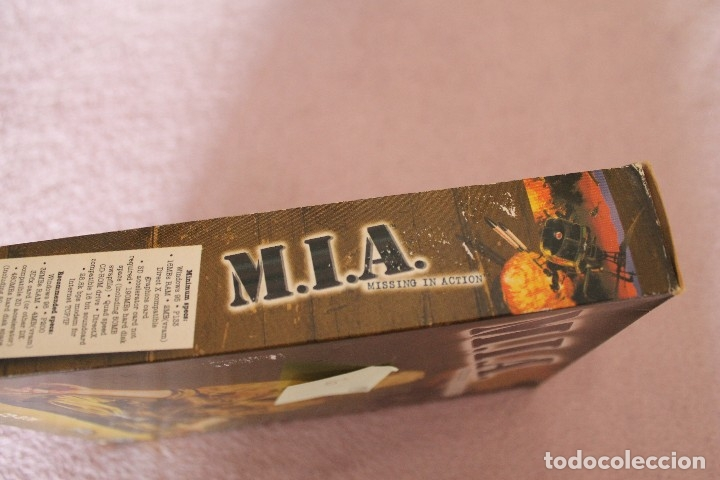 Videojuegos y Consolas: M.I.A. MISSING IN ACTION PC BOX CAJA CARTON - Foto 6 - 103877403